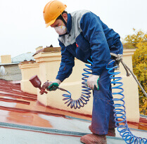 Roof Painting - sindabad painting & plastering